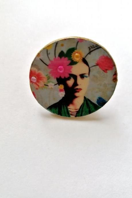 Frida boutique capsue collection - 'Frida Flower' ring