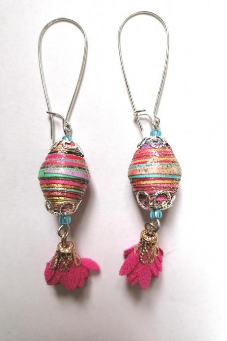 Frida boutique collection - 'Frida flower' earrings III